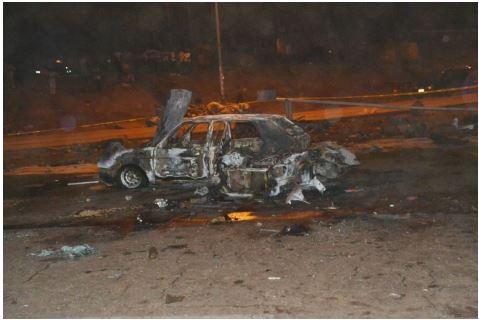 22 See Photo From Scene Of Abuja Bomb Blast Last Night