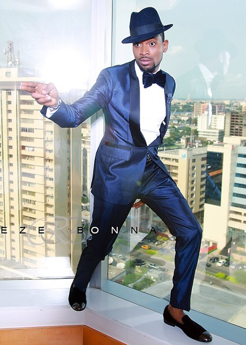 DBanj ThisDay Style2 [Photos] D'Banj Poses Like James Bond For This Day Style