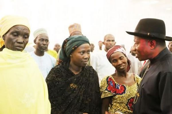 jonathan Jonathan Did Not Give Us N1m – Chibok Parents