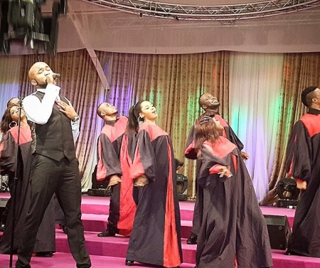 banky w NL1 See Exciting Photos From Banky W's Behind The Shoot For Jaiye Ori Mi Video