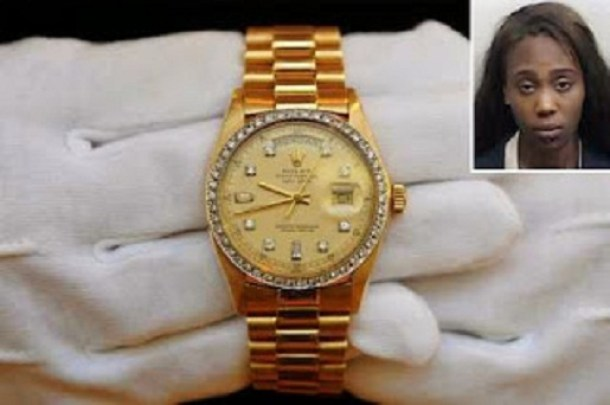 Prostitute Steals Lover Prostitute Steals Mans $25K Rolex Watch And Hides It In Her Thing [See Photo]