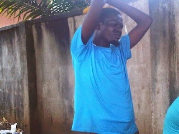 man1 WICKEDNESS!! Man Forces Neighbor To Eat Feaces Inside Toilet [See Photo]