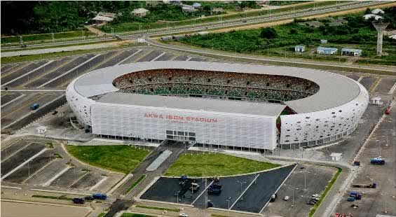 Akwa Ibom Steadium naijaloaded com2 See Akwa Ibom States World Class Stadium (Photos)