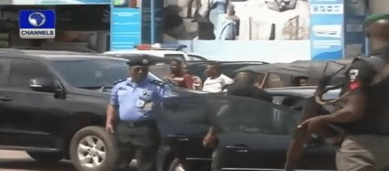 22 Photos: Police Defuse Bomb In Popular Owerri Eatery