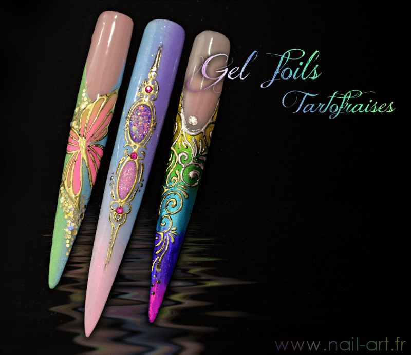 gel foil stiletto