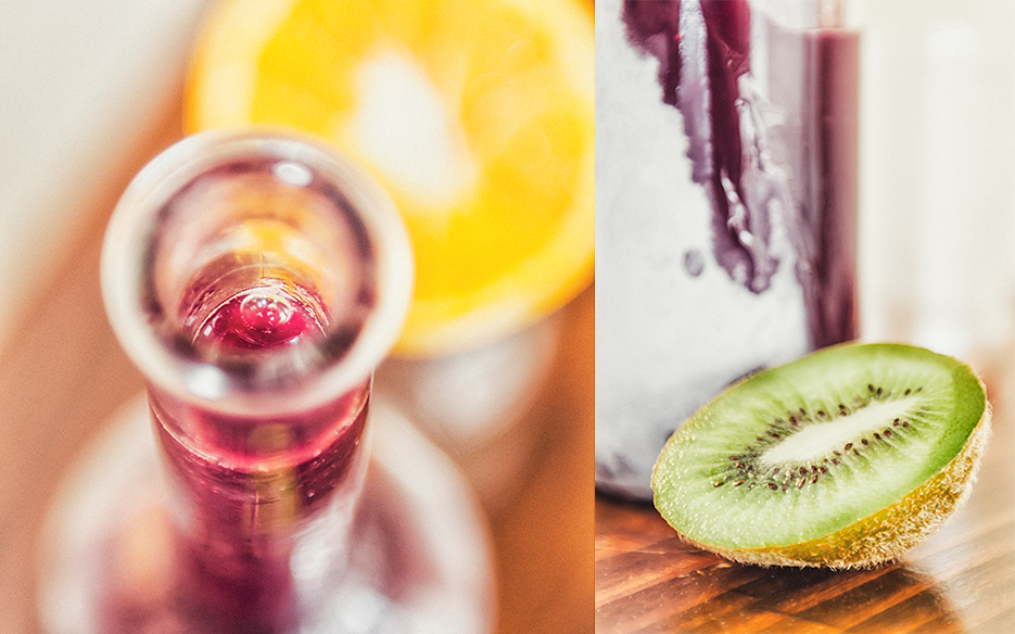 Red wine Sangria. Beverage & Food Photography by professional Indian lifestyle photographer Naina Redhu of Naina.co