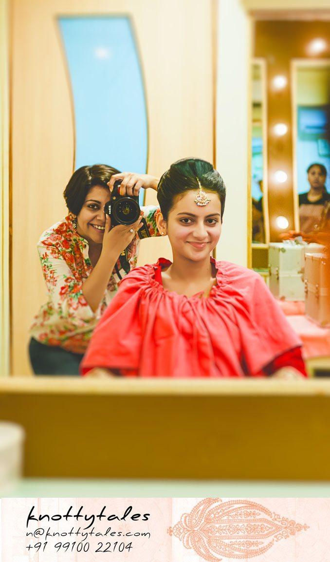 Nuptial knot captured with women's eye : Deccan Herald, New Delhi Metrolife feature : Female photographer : Indian wedding photographer Naina Redhu