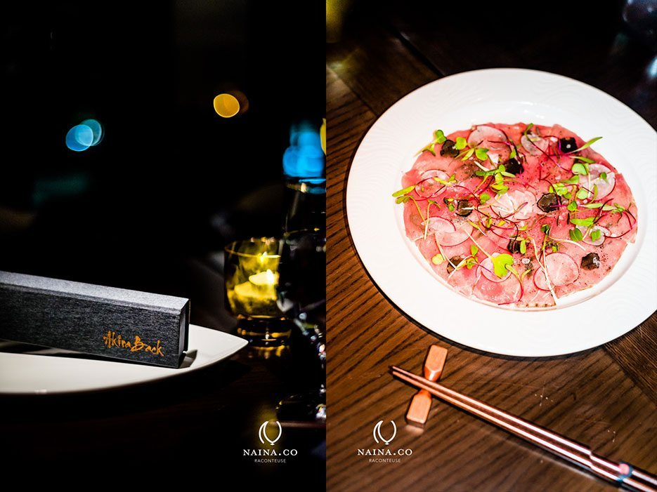 Japanese cuisine at akira back jw marriott delhi naina for Akira japanese cuisine
