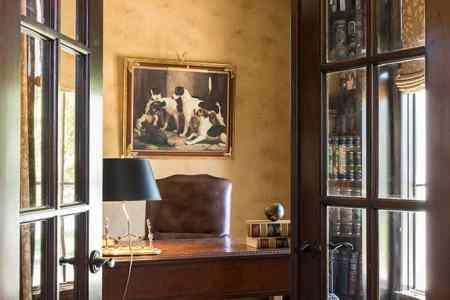 home office interior design dallas
