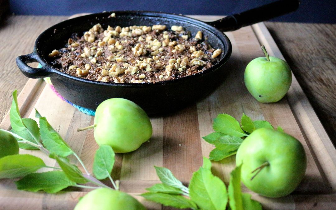 Brown Butter Pear & Apple Crisp
