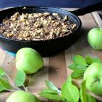 brown butter pear and apple crisp