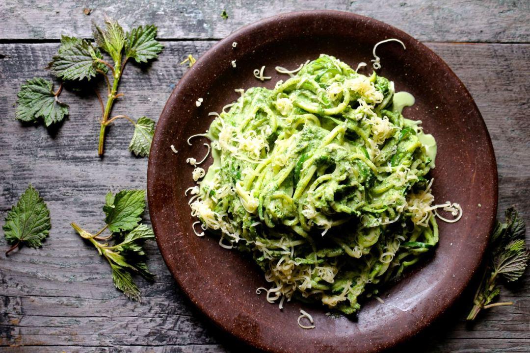 Nettle Pesto - Naked Cuisine
