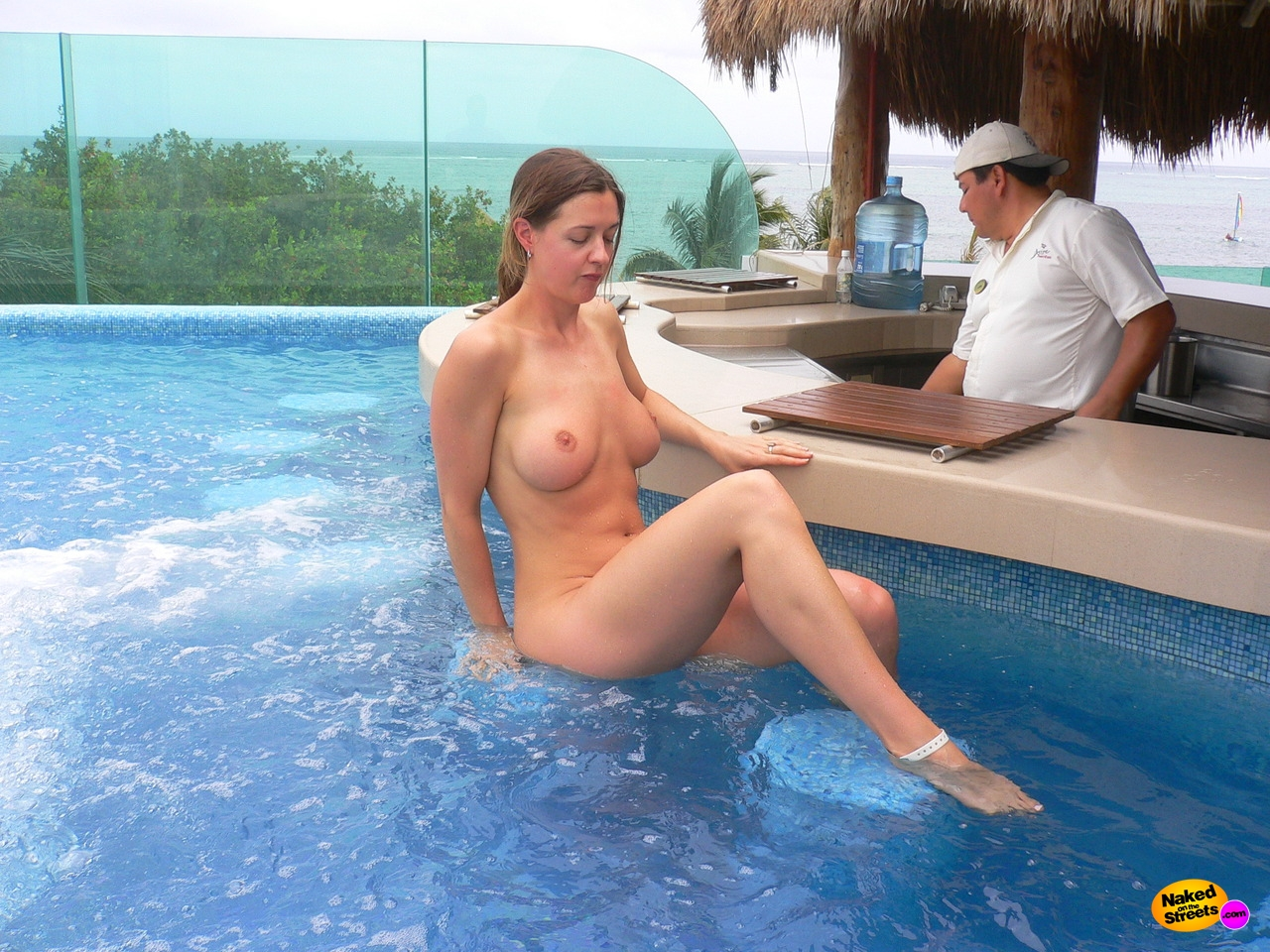 Consider, that Amateur mom nude pool something