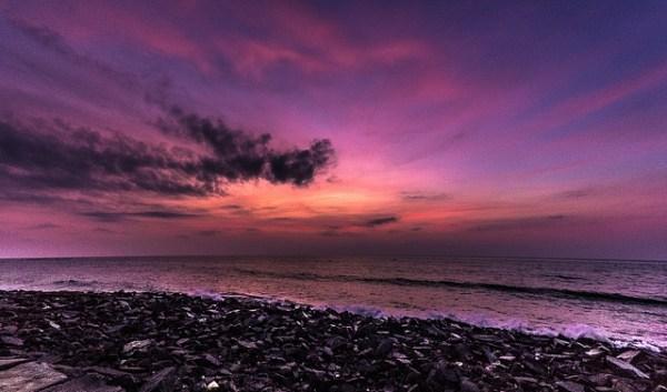 Rock beach, Pondicherry