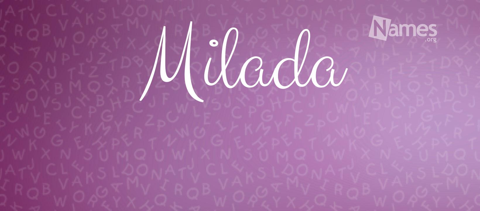 Poster do filme Milada
