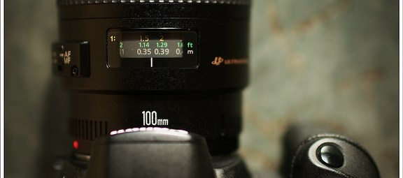 Canon EOS 20D and EF 100mm f/2,8 macro