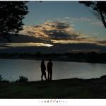 Zonsondergang boven Breizh