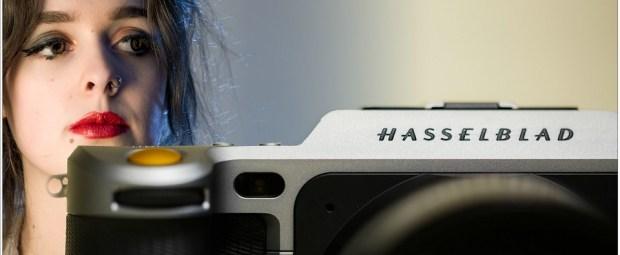 Roos en een Hasselblad X1D-50C