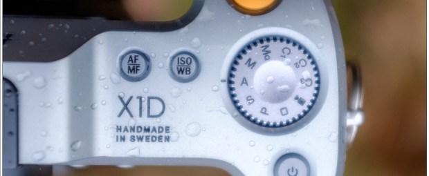 Handgrip van de Hasselblad X1D-50C