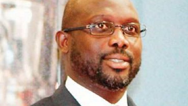 Weah says he will contest the Liberian presidency in elections next year
