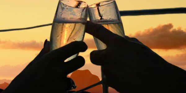 Clincking Champagne Glasses_0