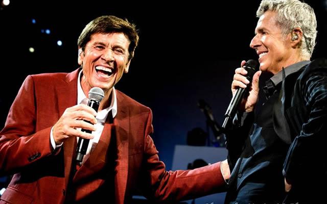 Claudio Baglioni e Gianni Morandi in 4 concerti a Napoli