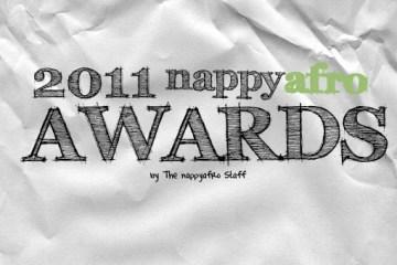 2011 nappyafro Award (Front)