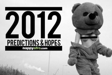2012 Predictions & Hopes (Front)
