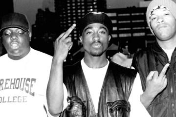 2Pac, Redman & Biggie (Front)
