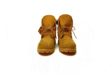 Scuffed Timbs Front