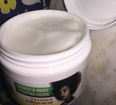 Pampered Roots Coconut and Honey Hydrating Cocoon