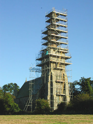 External Ladder Access on Southburgh Church Spire