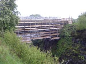 Croxdale Bridge Scaffolding