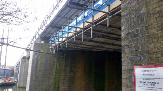 Wroxham Viaduct, Network Rail Image