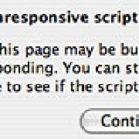 Tắt cảnh báo Unresponsive script của FireFox