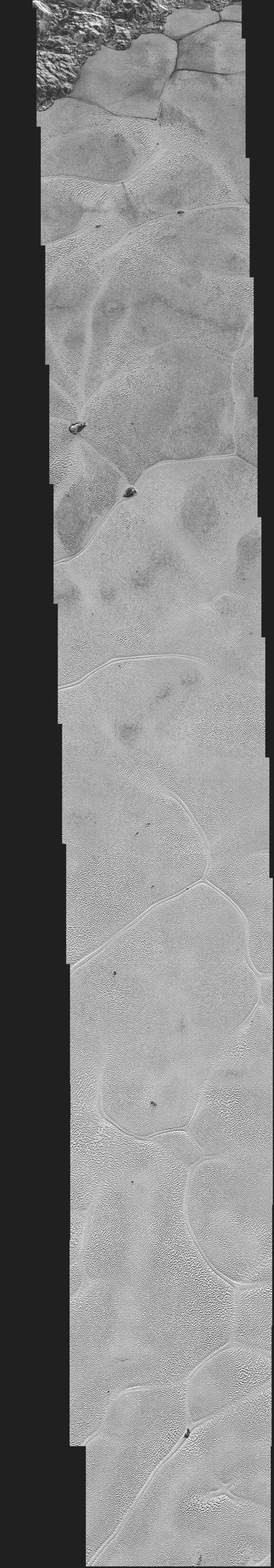 Pluto's Icy Plains in Highest-Resolution Views from New Horizons