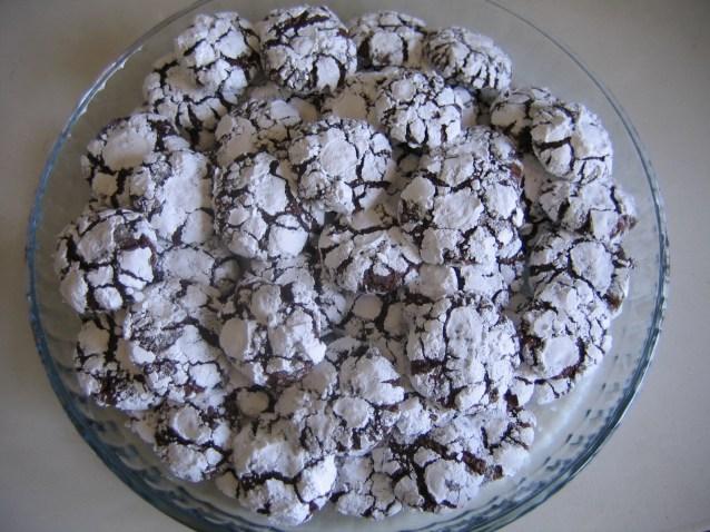 Печенье – первый снег