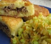 Зразы (Картофельные пирожки с мясной начинкой)