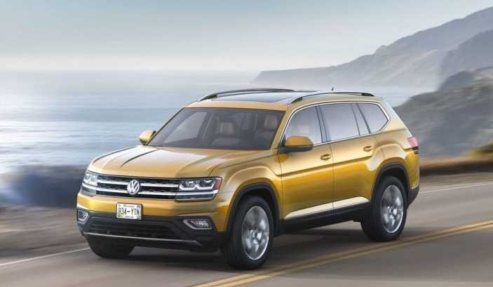Volkswagen Atlas: 3-row SUV made in US