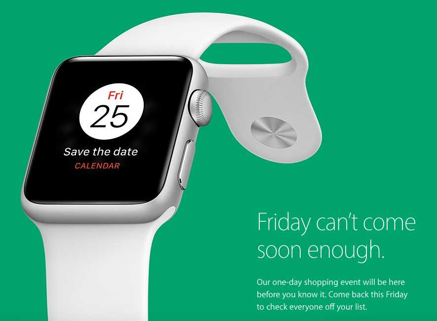 Apple will hold its first Black Friday sale in years
