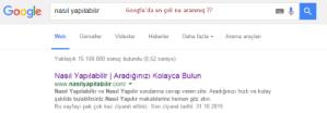 Google En Çok Arananlar Nasıl Bulunur