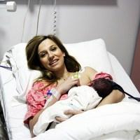 Dana Rogoz a născut, contracțiile bune, dilatare grozavă, cezariană la sfârșit