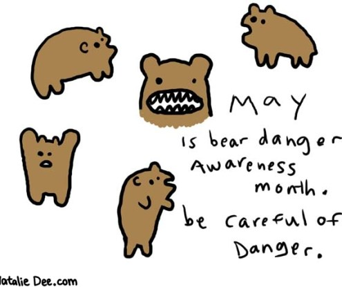 bear danger When I'm Going to Die