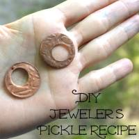 Recipe to Make your own Natural Jeweler's Pickle
