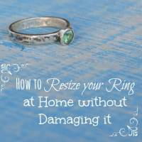 How to Resize your Ring to Make it Smaller at Home - Easy and Reversible!