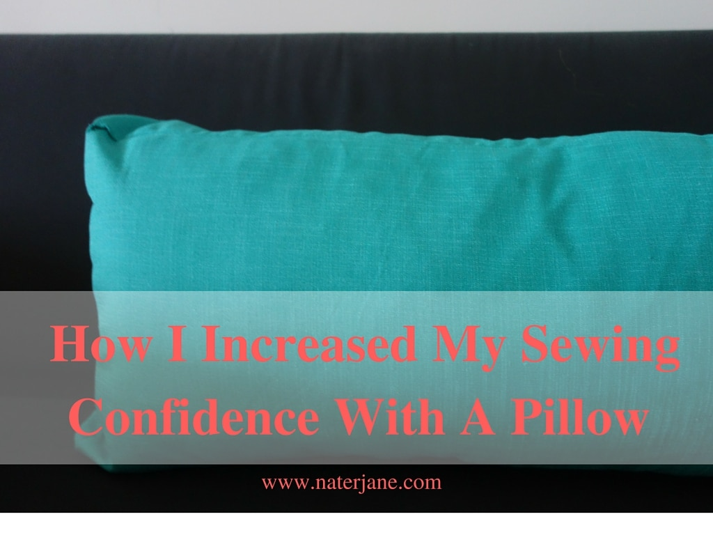 Lately, I been quitting every sewing project I started. I want to change this and I though a simple sewing project would help. My project a pillow.