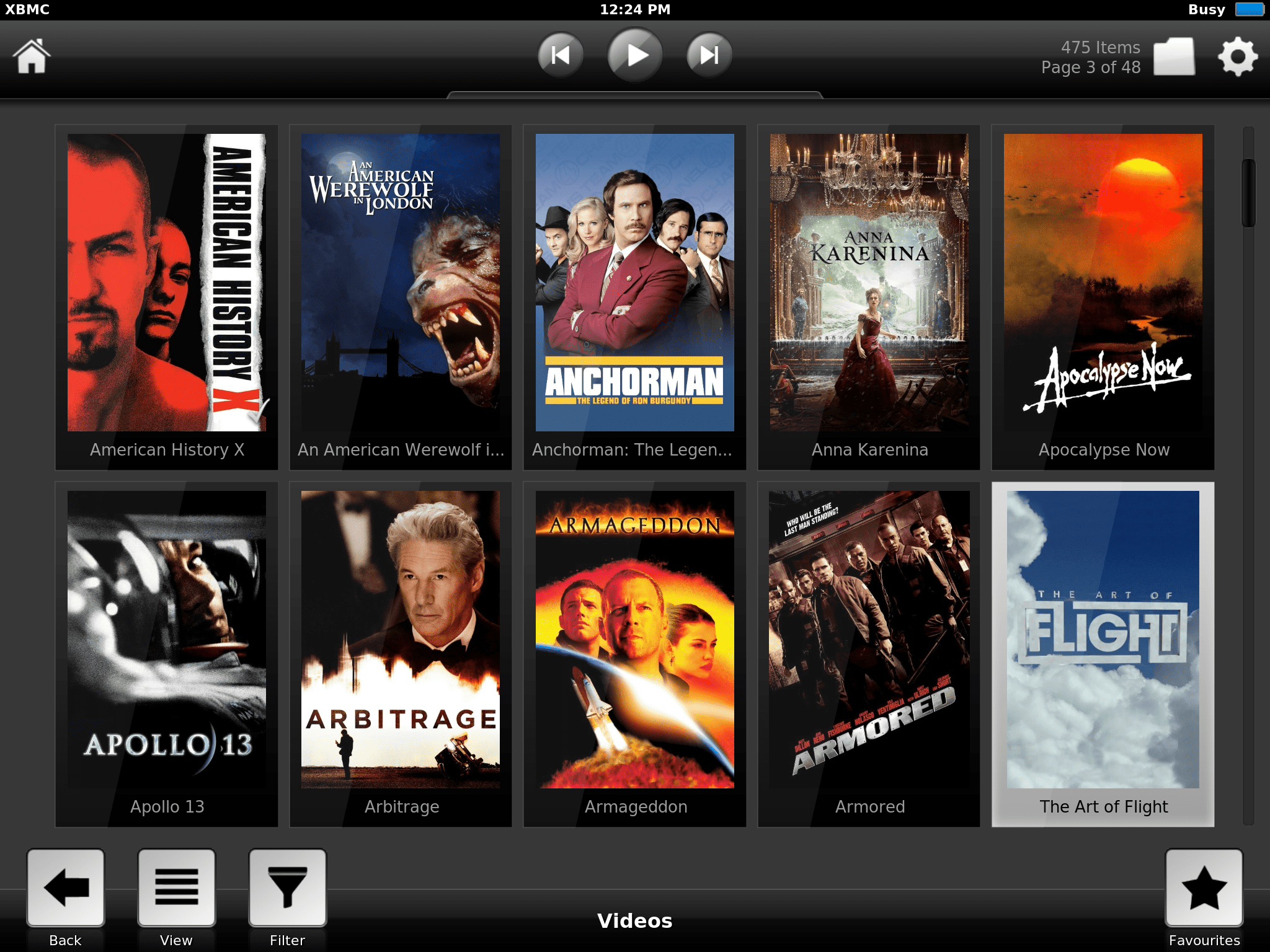 Connect XBMC iPad/iPod/iPhone to our XBMC Media Center Server