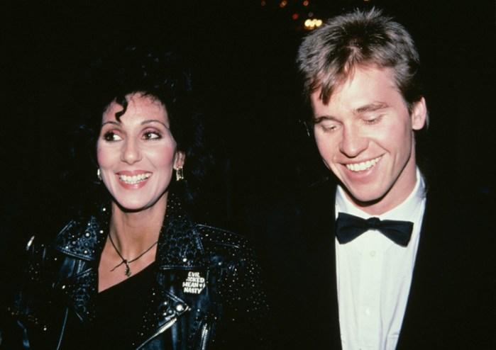 USA: Cher and Val Kilmer