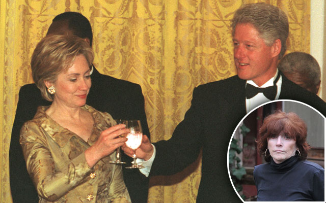 Kathleen Willey Bill Clinton F