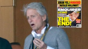 Michael Douglas Sad Final Days F